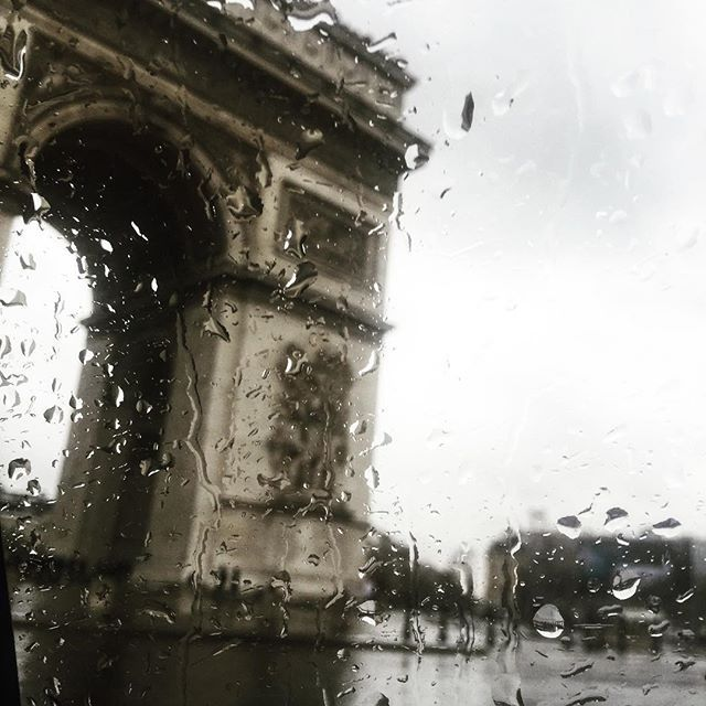 """This is what you do on your very first day in Paris. You get yourself, not a drizzle, but some honest-to-goodness rain, and you find yourself someone really nice and drive her through the Bois de Boulogne in a taxi. The rain's very important. That's when Paris spells its sweetest. It's the damp chestnut trees."" ~ Audrey Hepburn, Sabrina @marriotthotels #travelbrilliantly #tagforlikes #outfit #FF #instastyle #followback"