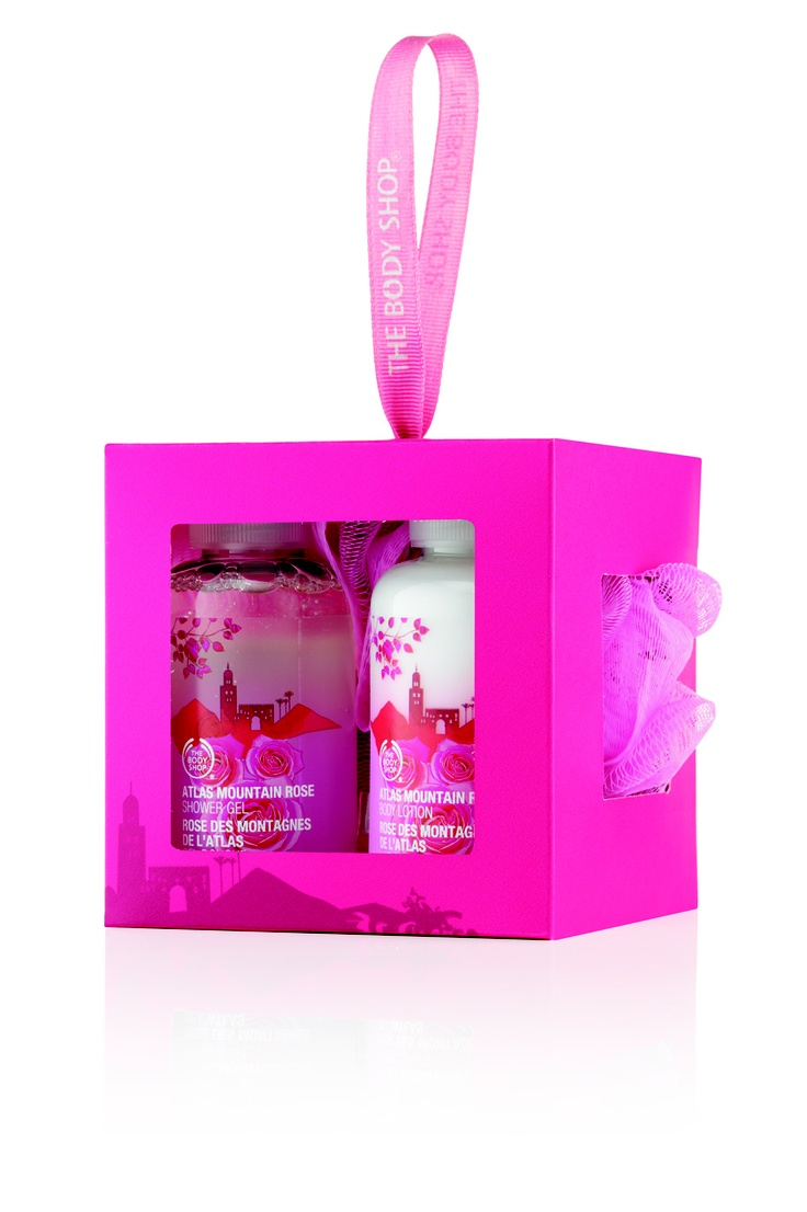 Atlas Mountain Rose Mini Cube RRP $18.95 #Thebodyshop    This mini cube is packed with the scents of Atlas Mountain Rose. An exotic scent of amber and musk combine with citrus notes, exotic spices and mountain rose extracts from Morocco.
