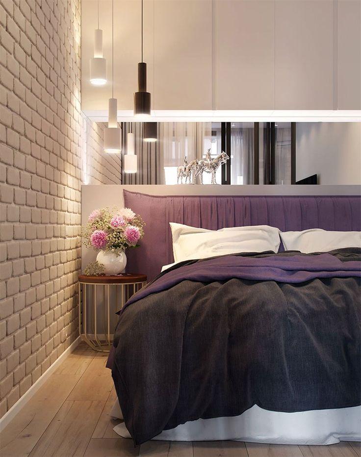 9-quarto-pequeno-cabeceira-roxa-nicho-com-fundo-de-espelho