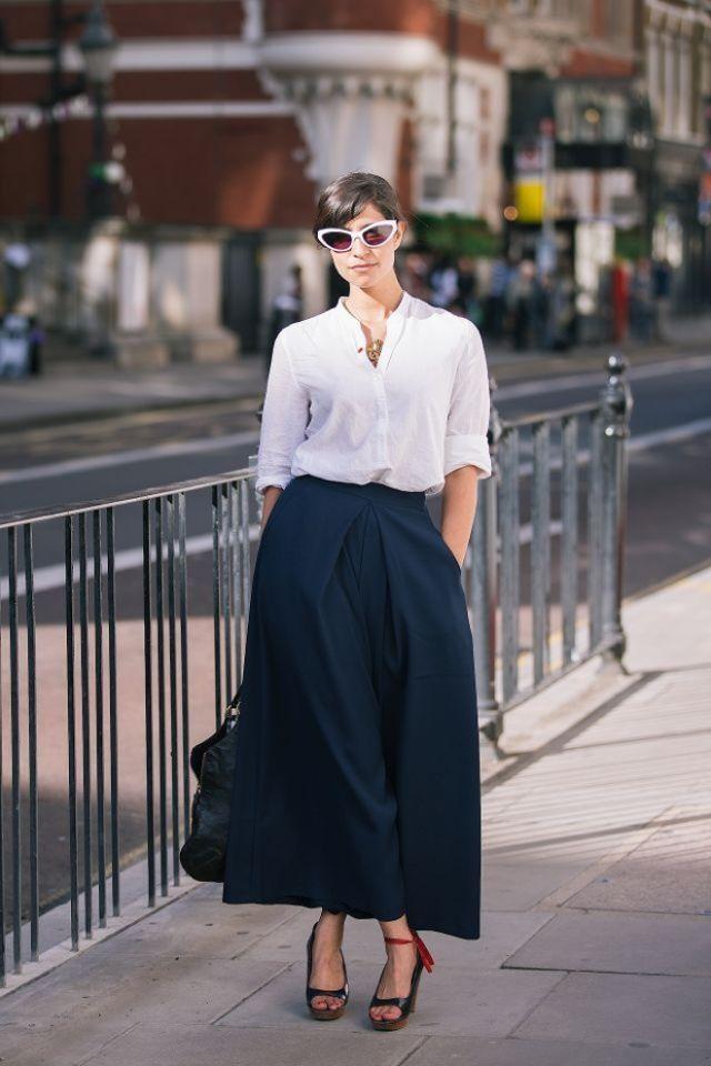 White Shirt Style