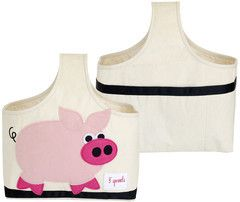 Machiko - a boutique for kids - Pig Caddy By 3 Sprouts, $29.95 (http://www.machikobaby.com.au/products/pig-caddy-by-3-sprouts.html)