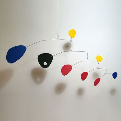 Inspiration for a modern baby mobile
