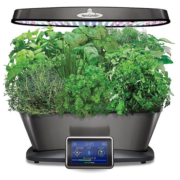 Aerogarden Bounty Elite Home Gardening System In Platinum 400 x 300