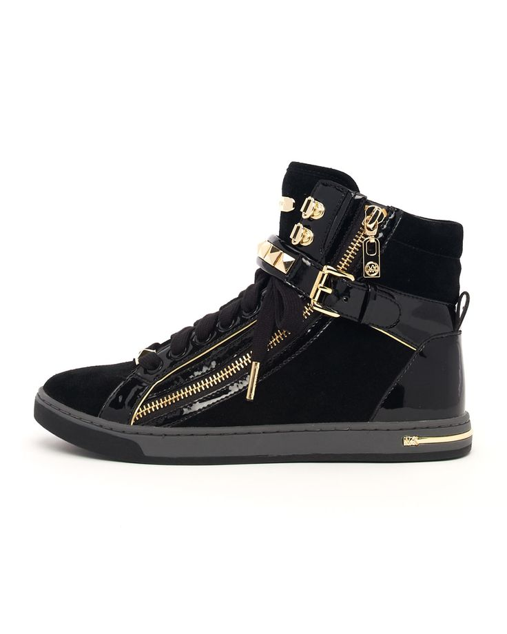 Michael by Michael Kors Glam Studded High Top