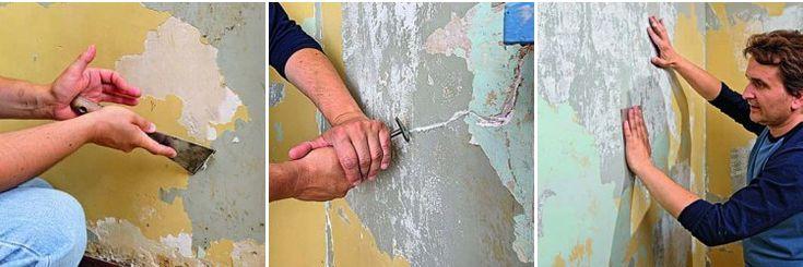 Enduire un mur intérieur fissuré   BricoBistro