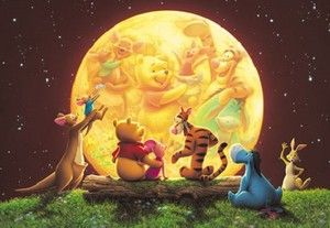 Jigsaw Puzzle Disney Character Pooh 300 pieces