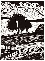 Image result for contemporary lino print artists