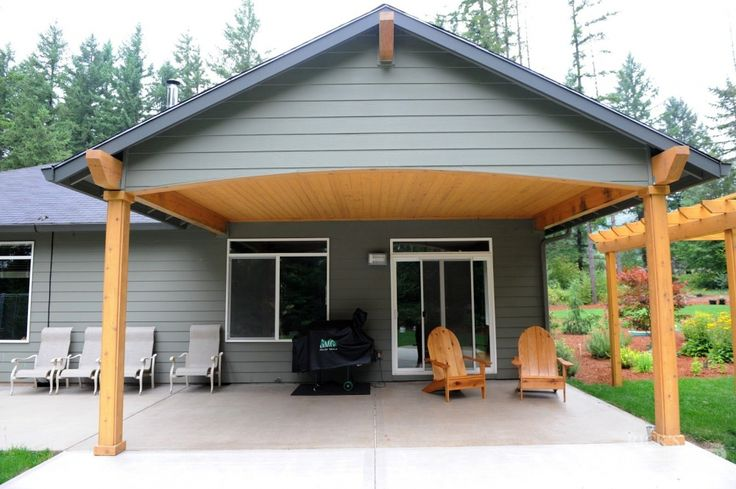 Wood Framed Patio Cover