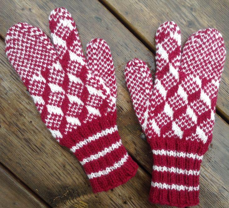 Newfoundland mittens, by Shirley A. Scott