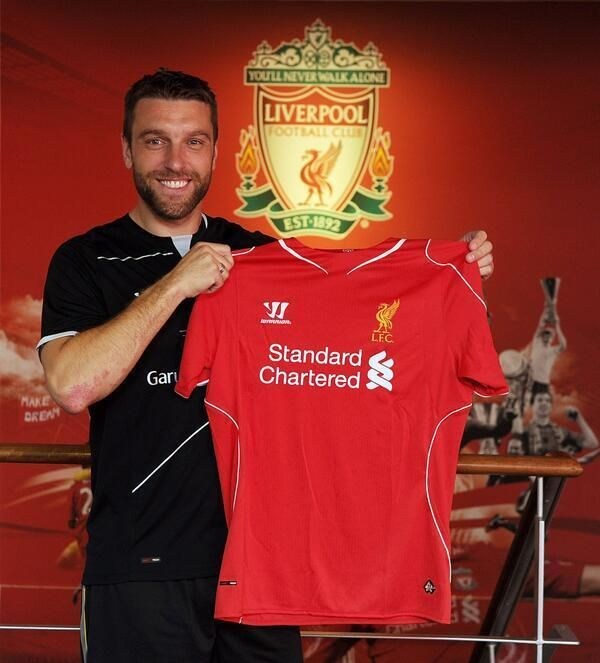 BREAKING NEWS: Rickie Lambert has signed for Liverpool. pic.twitter.com/fICctmXvgI