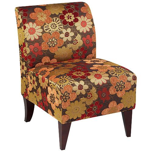 Armless accent chair scarlet spice at big lots for the for Living room with lots of seating
