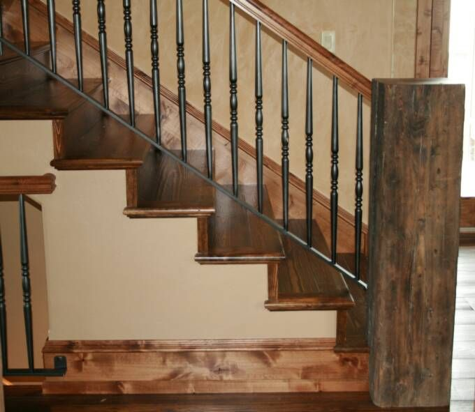 Rustic Mountian Stair Railings: Mountain Style Remodeling Inc