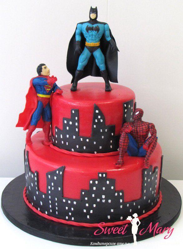 Все любимые супер герои на одном торте!  082d. Торт Супергерои 082d. Торт Супергерои 082d. Торт Супергерои 082d. Торт Супергерои Торт с фигурками супергероев Спайдемэна, Бэтмана и Супермэна для мальчика. Суперсюрприз на день рождения ребенка!   http://sweetmary.ru/cakes-order/detskie/1235-082d.-tort-supergeroi.html