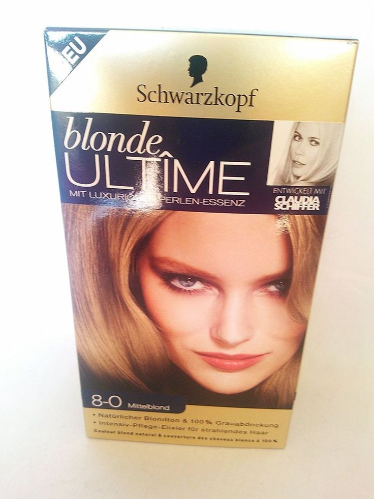 coloration schwarzkopf blonde ultime n80 medium blond neuf - Coloration Schwarzkopf
