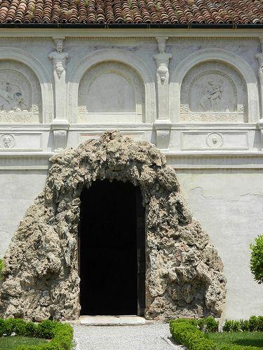 Giulio romano la grotta secreta del palazzo de te de - Giardino del te ...