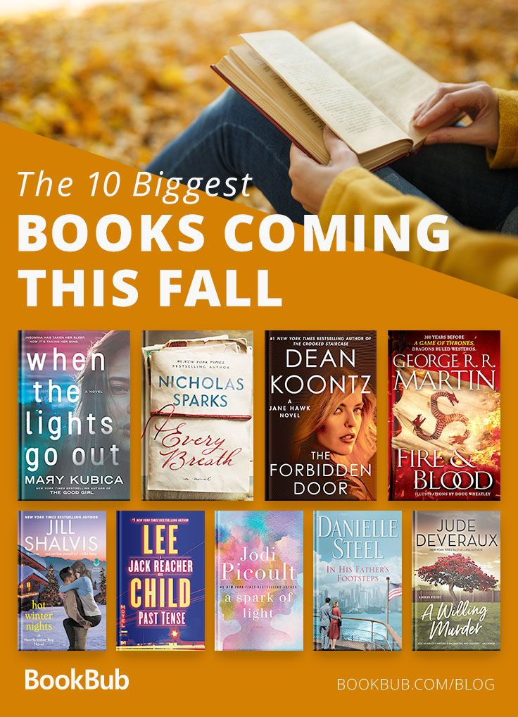 The 10 Most Anticipated Fall Books According To Readers In 2018