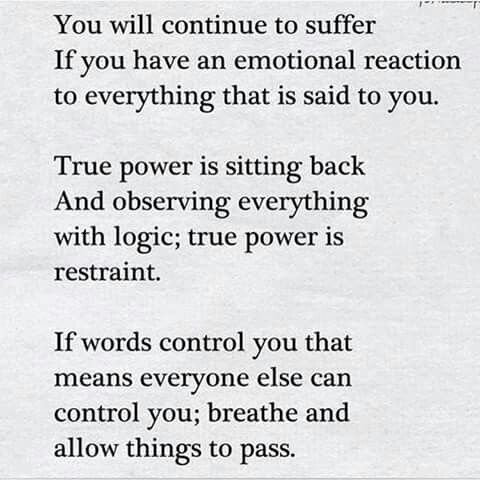 True power is sitting back and observing everything with logic; true power is restraint. | #INTJ