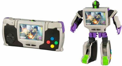 The Real Gear Transformers series conceals little toy robots disguised as cell phones, digital cameras, portable video game systems among other things.