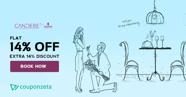 #Candere Valentines Day Special Offer 🎁 Buy Women #Jewellery & Get Flat 14% OFF + Extra 14% Discount 💎💍#Valentinesweek #Offers #Diamond #rings #wedding #TuesdayThoughts