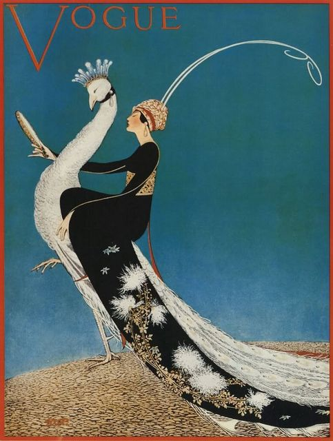 Vogue 1911     Magazine cover illustrated by George W Plank.