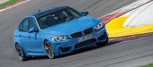 2015 BMW M3 - Action Front 3/4