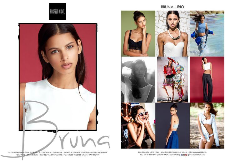 BRUNA LIRIO  #ragazzo #fashion #women #model #modelo