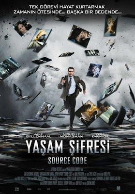 Source Code / 2011     93dk.     IMDb : 7,5/10     Tür :    Bilim Kurgu -Gizem -Gerilim     Oyuncular :    Jake Gyllenhaal ,  Mich...