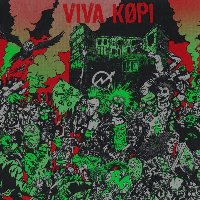 Viva Köpi - LP cover art
