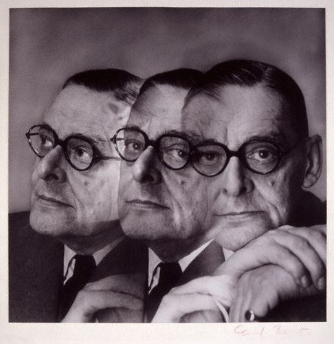 T. S. Eliot by Cecil Beaton