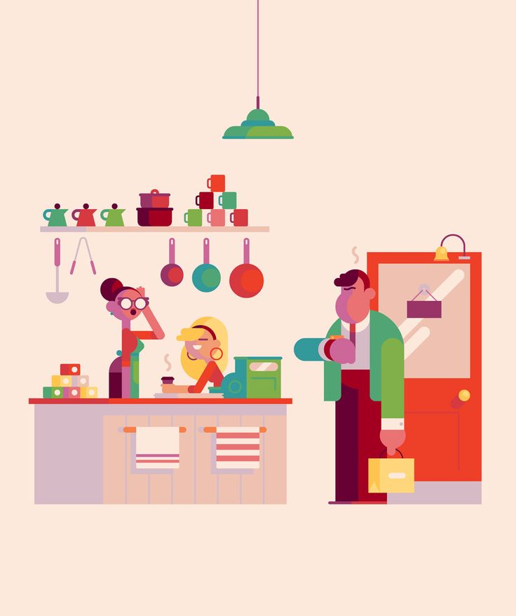 For a feature in Canadian trade magazine Retail News that discusses the pitfalls of close employer-employee relations. I got lucky with these colours I think.