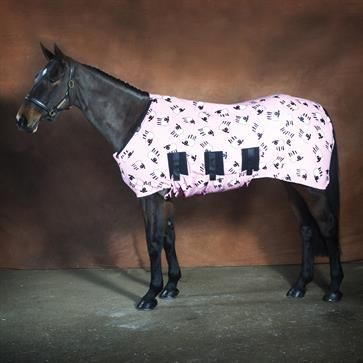 Jams Fleece Stable Horse Rug - Pink Sheep from Snuggy Hoods Australia