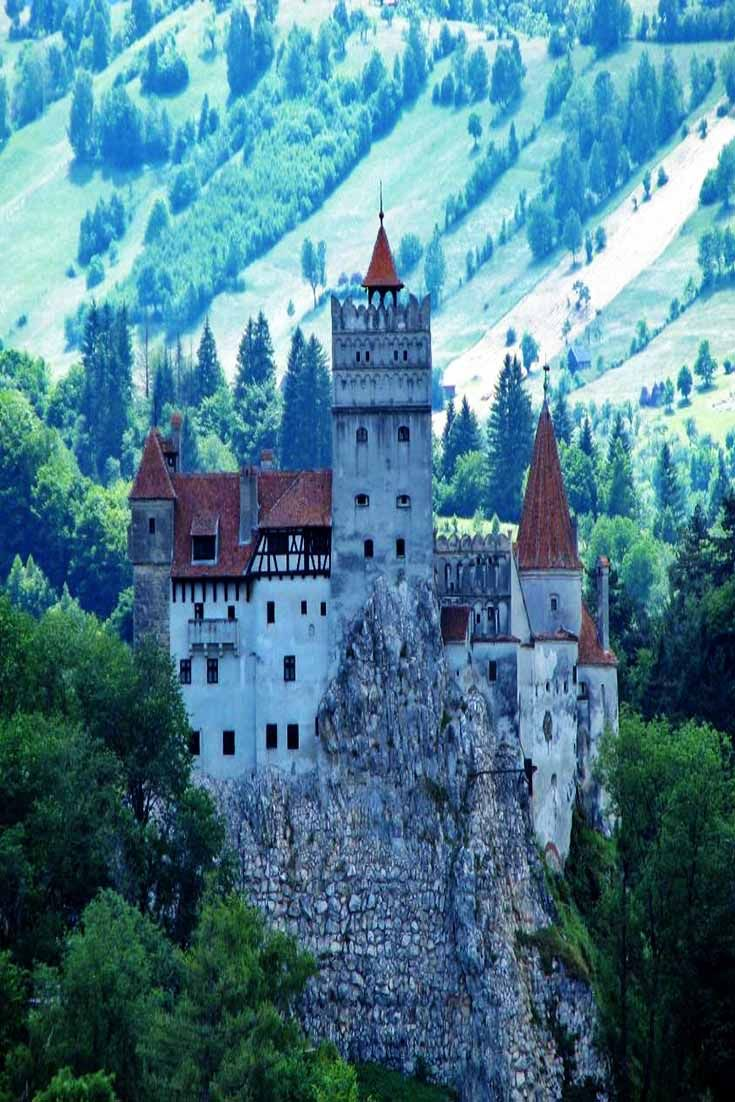 Do you know where in the world Dracula's Castle is located? Click to find out!