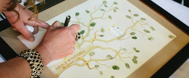 sSquared Workshop creates unique guestbooks for every occasion.