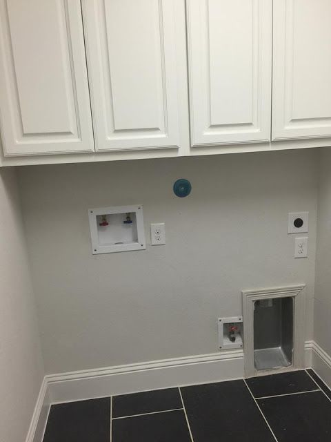Classic Style Home:Dryer vent install into the wall