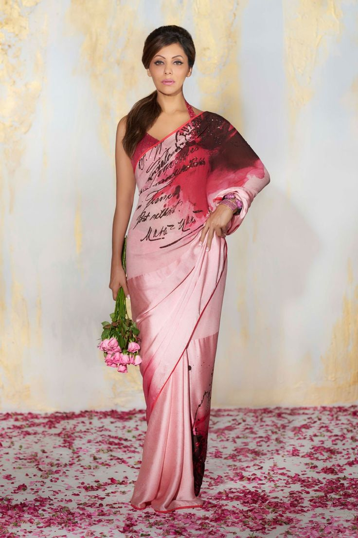 Blush Saree -Satya Paul