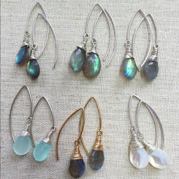 Mandorla Arc earrings