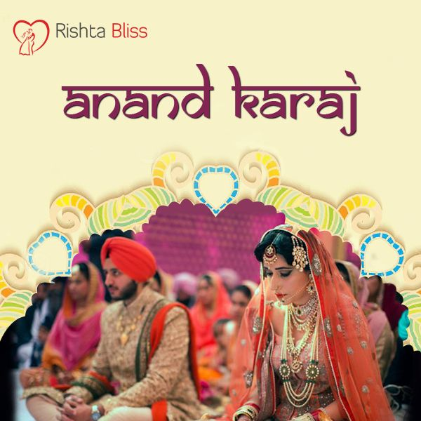 The sacred ritual of Sikh marriage which means Blissful Union  ‪#‎RishtoKiKahani‬