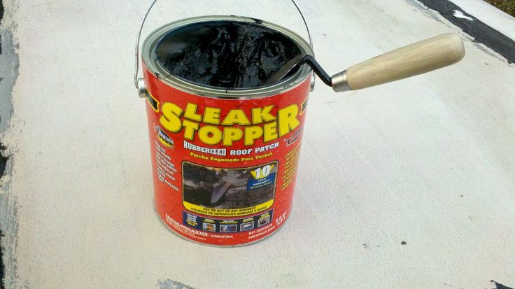 How to Repair and Seal a Metal Roof (Trailer, Camper, and RV) Using Rubber Leak Stopper