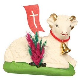 16 best easter gifts items ideas images on pinterest easter laying easter lamb 35 inches tall this easter lamb is hand made out of negle Images