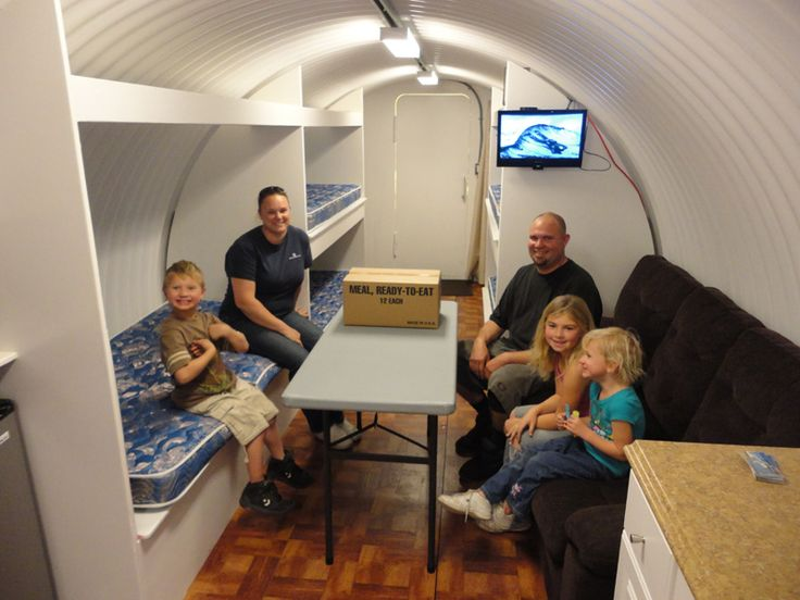 Homemade storm shelter plans bomb shelters fallout for Hidden storm shelter