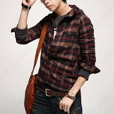 Image result for mens casual check shirts