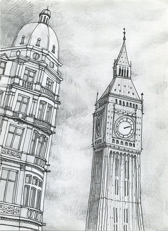 17 Best Images About Beautiful Sketches On Pinterest | Sketching Big Ben And Pencil