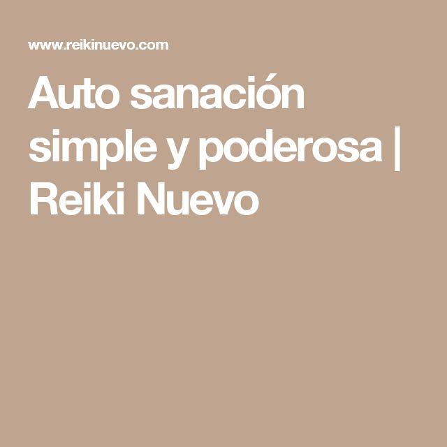 Auto sanación simple y poderosa | Reiki Nuevo