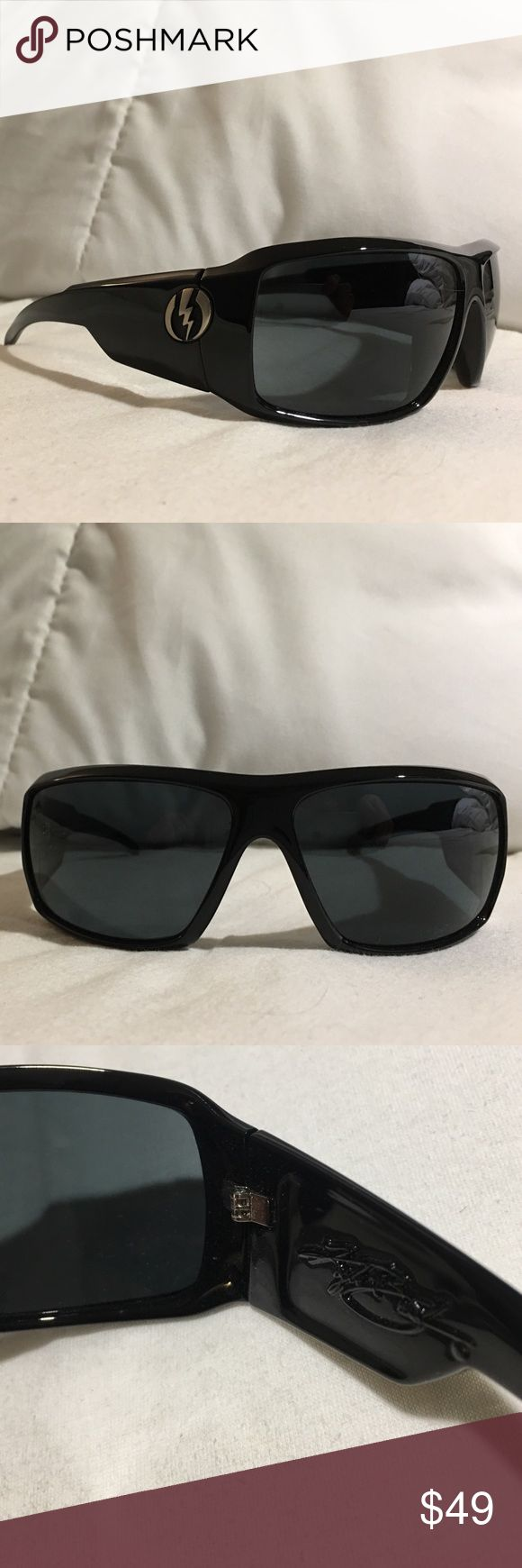 """Electric Sunglasses! Kyle Busch """"KB1's"""" Brand New Black Electric Sunglasses Electric  Accessories Sunglasses"""