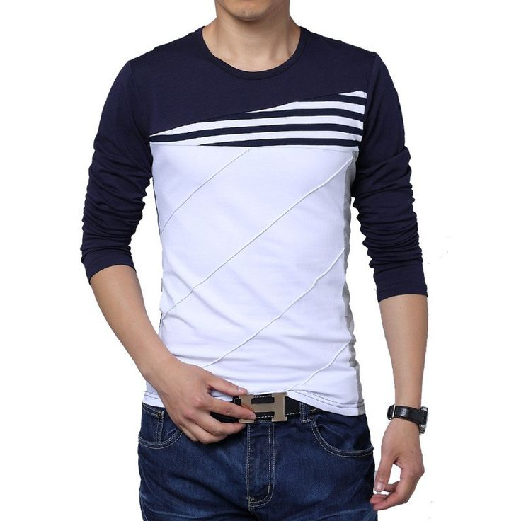 Full Sleeve O'Neck Cotton Material T-Shirt For Men. #Mentshirt #ShopOnline #MehdiGinger