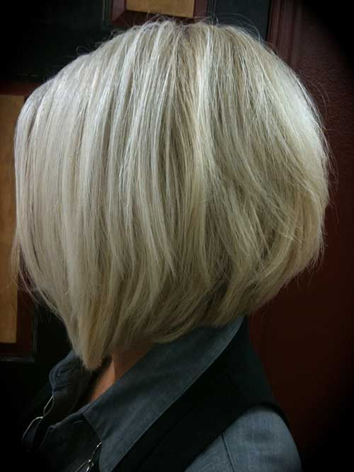 bob hairstyle back view | Stacked bob is also a unique and latest type of bob haircut.
