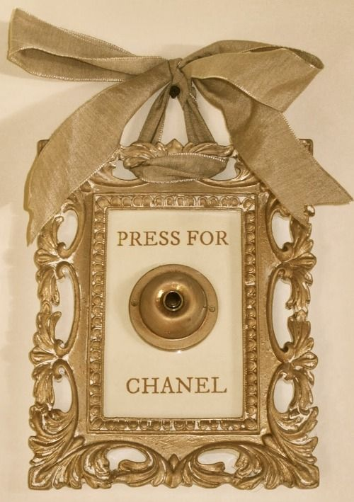 press for chanel