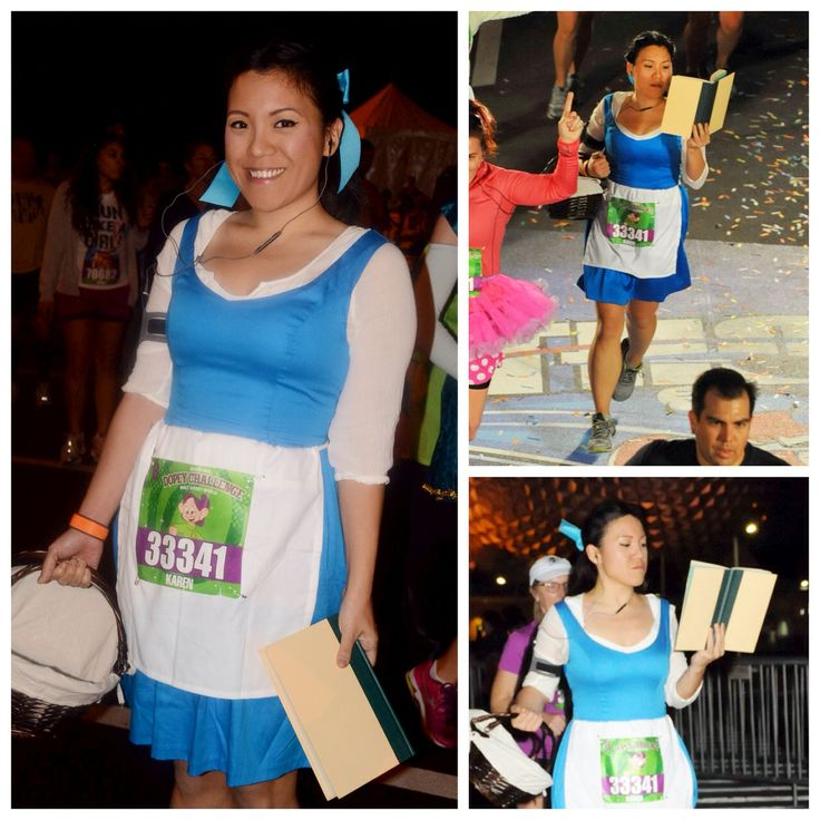 Karen Chu goes all out and stays in character during her runs. LOVE it!!