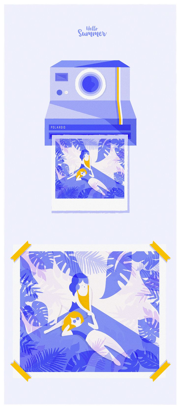 Hello Summer on Behance