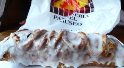 Strudel de la Panadería del Museo. Blog post: